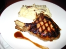 Double Cut Pork Chop, Caramel Apple Brandy